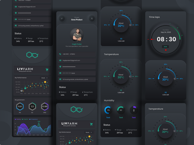 Indoor automation grow product app dashboard web app web design typography product design product card productdesign print branding design branding animation mobile apps mobile app design mobile app app design product page product grow automation indoor