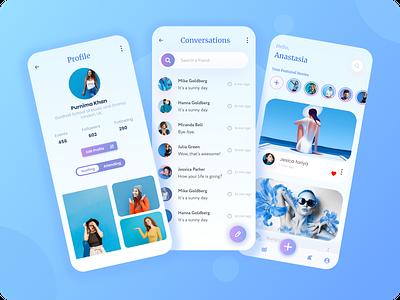 Snapchat App Redesign snapchat filter social app design social apps social app snapchat app design mobile app design