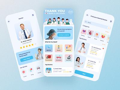 Medical service app app ui medical ui medical app ui apps design medical apps medicare doctor app medical app doctor medical