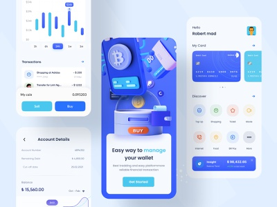 Cryptocurrency Mobile App mobile app ui design ui design mobile app ui app design mobile app design mobile app mobile design mobile cryptocurrency currency converter blockchain btc bitcoin coin wallet crypto currency crypto app crupto currency app currency