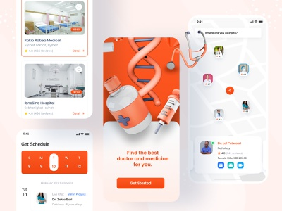 Medical Consultation Apps ios android ios apps mobile ux syful mobile apps mobile ui mobile design mobile doctor apps ui medical apps design medical apps ui patient hospital apps hospital medical consultation doctor apps doctor medical apps medical