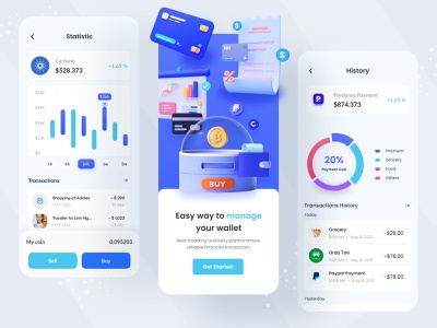 Currency Mobile App Design mobile app design app ui syful apps design mobile ui mobile design mobile app mobile crypto currecy crypto wallet blockchain bitcoin payment pay money currency ui currency apps currency converter currency