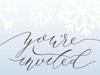Winter One-Derland Invitation