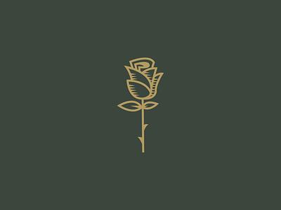 Rose Icon branding icon logo illustration