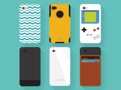 Phone Case Illustrations