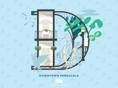 Local Letters - Downtown Pensacola