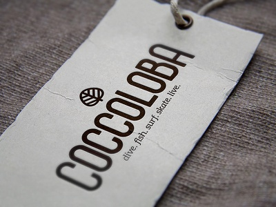 Coccoloba typography type hand lettering handlettering logo lettering clothing branding brand