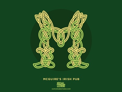 M is for McGuire's Irish Pub