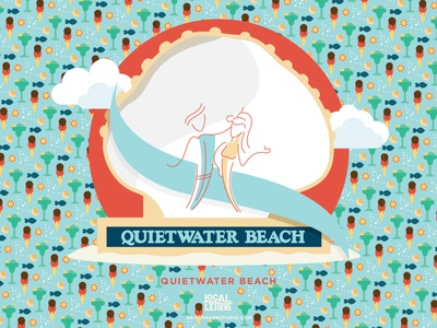 Q is for Quietwater Beach