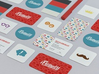 iFlashedU - Photo Booth Fun Branding type photo booth pattern logo illustration hand lettering branding brand