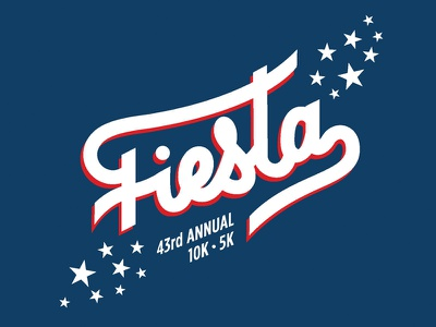 Fiesta 2017! race fiesta logo handlettering draw typography illustration script hand lettering lettering