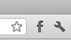 Facebook Chrome extension icon