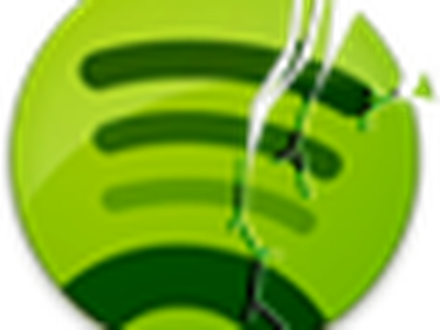 Original Spotify crash reporter icon spotify crash