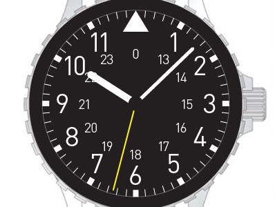 Wrist watch, first take