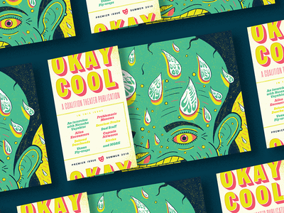 OKAY COOL Magazine richmond rva rvadesign va freight micro futura gooper comics comedy publishing magazine