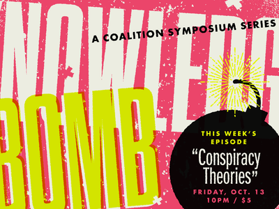 Knowledge Bomb rvacomedy va comedy rva rvadesign richmond