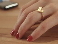 Polygon-tile ring design