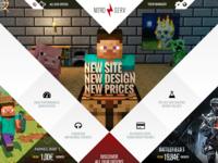 Nitroserv - website and rebranding