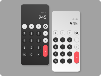 Calculator App design