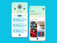 User Profile design for JouleBug app