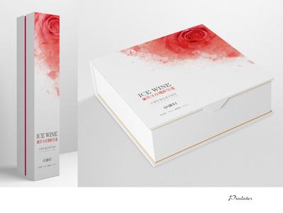 Rose wine design