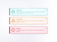 DailyUI 011 - Flash messages