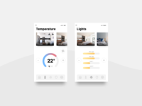 DailyUI 021 - Home monitoring