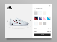DailyUI 033 - Customise product