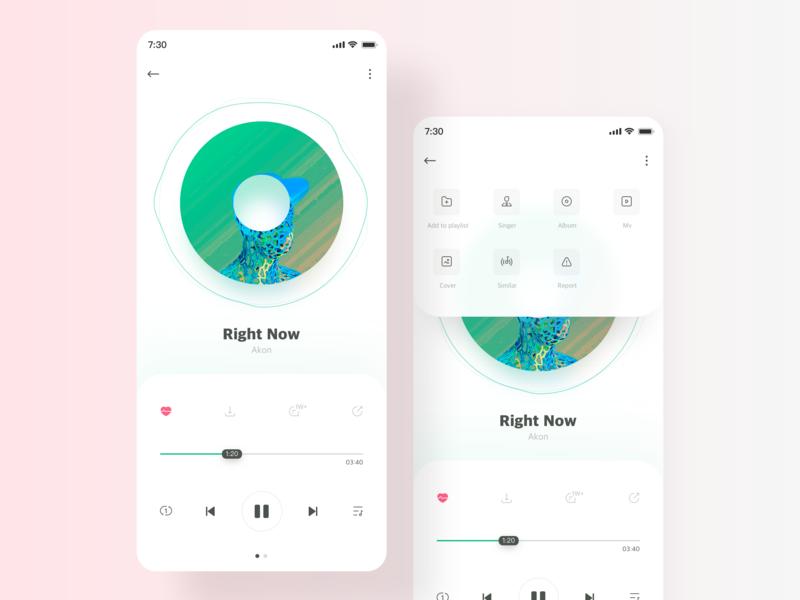 QQ Music icon ui app