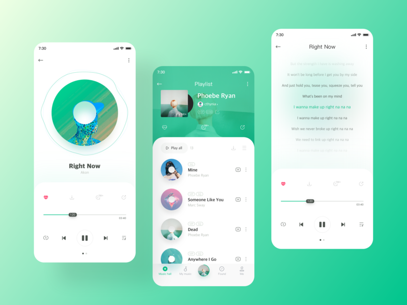 QQ music 2 by iSasuka on Dribbble