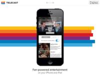 Homepage (scrolled) web homepage marketing