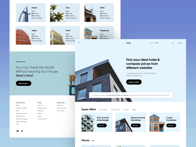 Trivago website redesign website landing page web place places building travel agency trending ui top new trending modern minimal clean booking app hotel booking hotel rooms travel