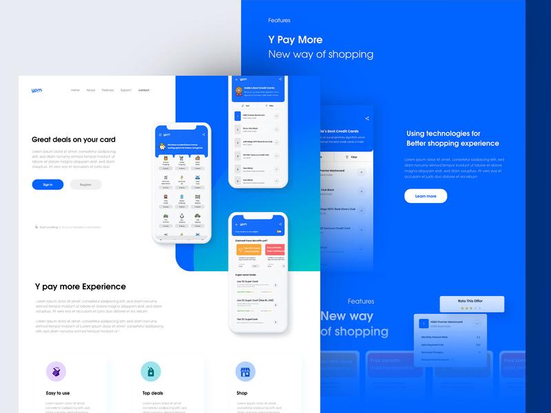 Price comparison shopping app design landingpage app typography clean minimal website design mobile app landing page web mobile uiux ui shopping