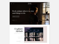 Air bnb Website redesigned