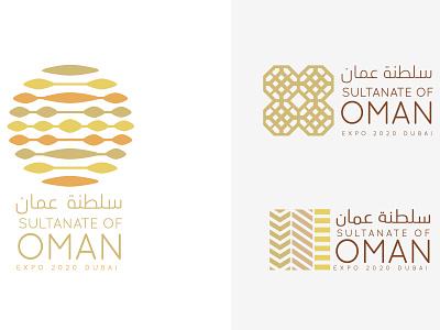 Oman Pavilion Logo Design - Expo 2020 Dubai UAE exhibition logo inspiration brand designer logo brief logo mark logo concept world expo expo2020 art direction graphic design logo designer brand identity visual identity expo creative logo logo design logo branding concept branding design branding