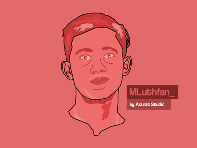 Face simple vector