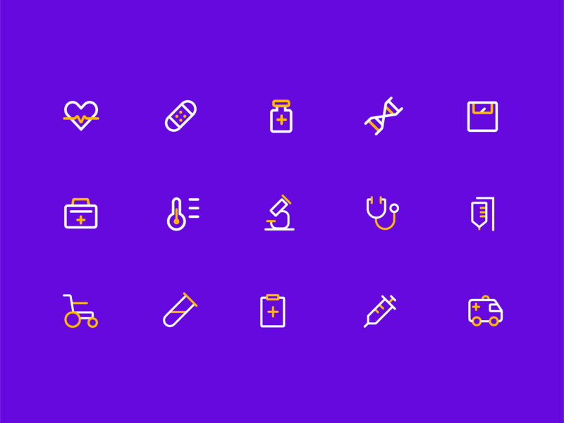 Medical Icon icon ui illustration