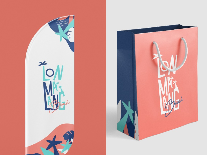 Lonmalang Beach Brand and Packaging Design