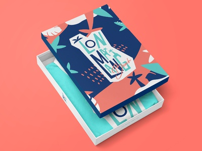 Lonmalang Beach Packaging Design