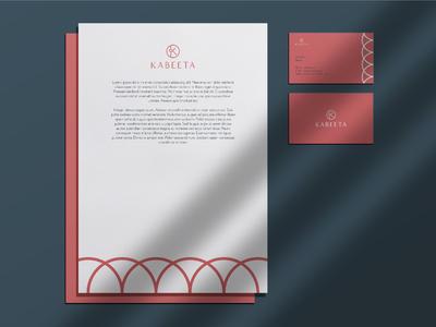 Kabeeta Stationery Design