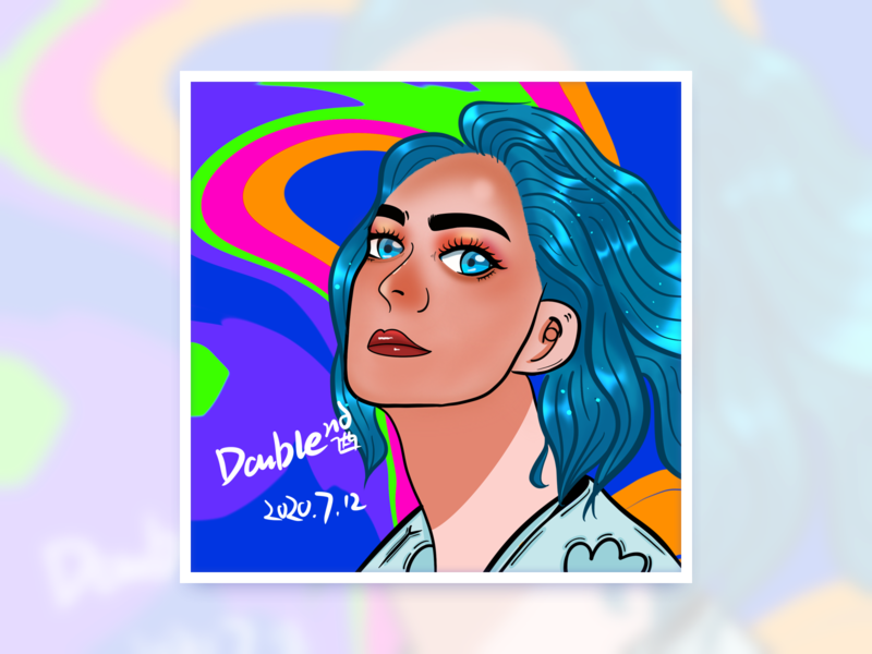 Cool avatar design 头像 illustration