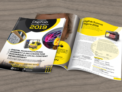 Digifab  Brochure design