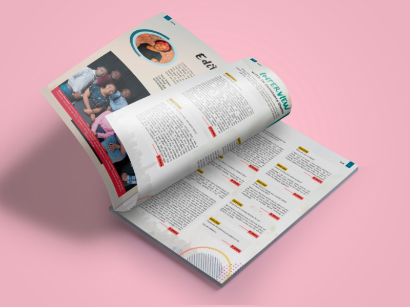 Brochure Design design graphics magazine