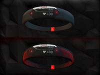 Fitness Bracelet Visualization