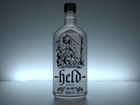 Held Vodka Rendering
