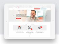 Bancoldex Colombia web responsive design