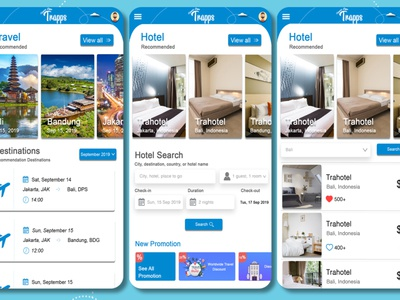 Travel Apps Feature