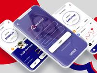 CoinCloud Mobile App UI Deisgn