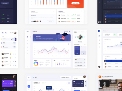 Dashboards all in one booking education finance mobile app graph chart statistics dashboard app interface ux ui