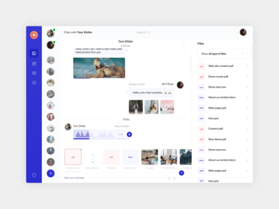 Taskwell chat page